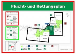 Fluchtpläne / Rettungspläne erstellen Berlin Hannover